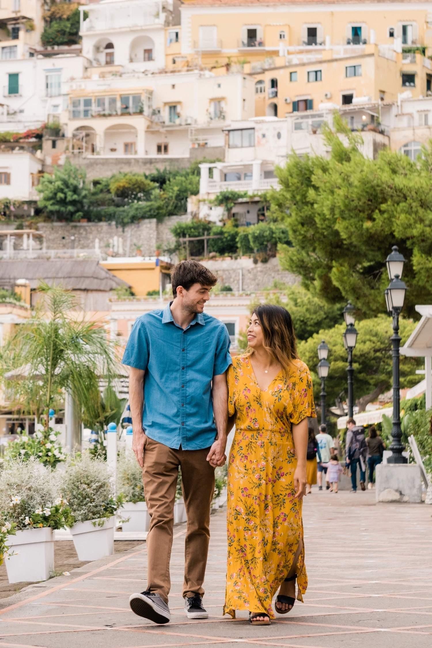 A colorful Amalfi Coast honeymoon adventure