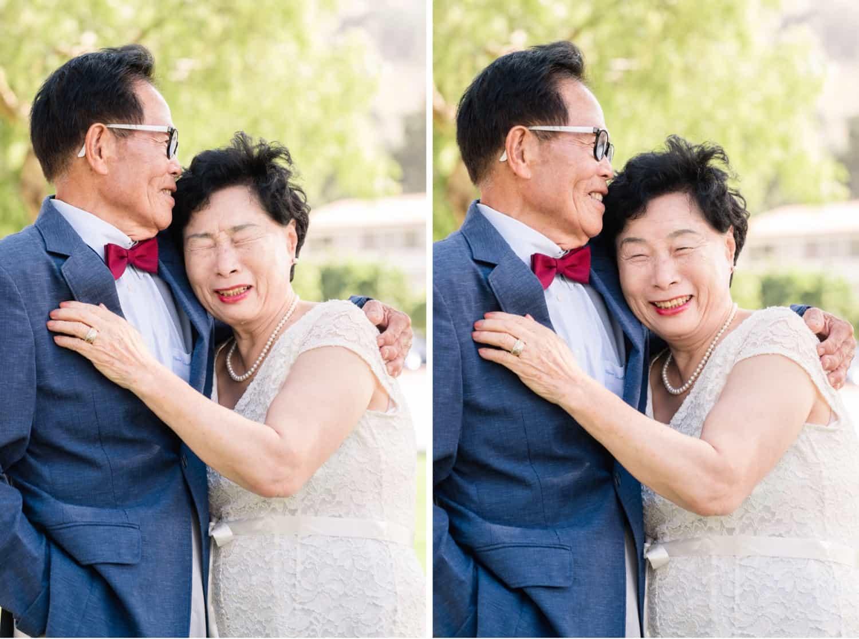 Grandparent's anniversary photos in Los Angeles