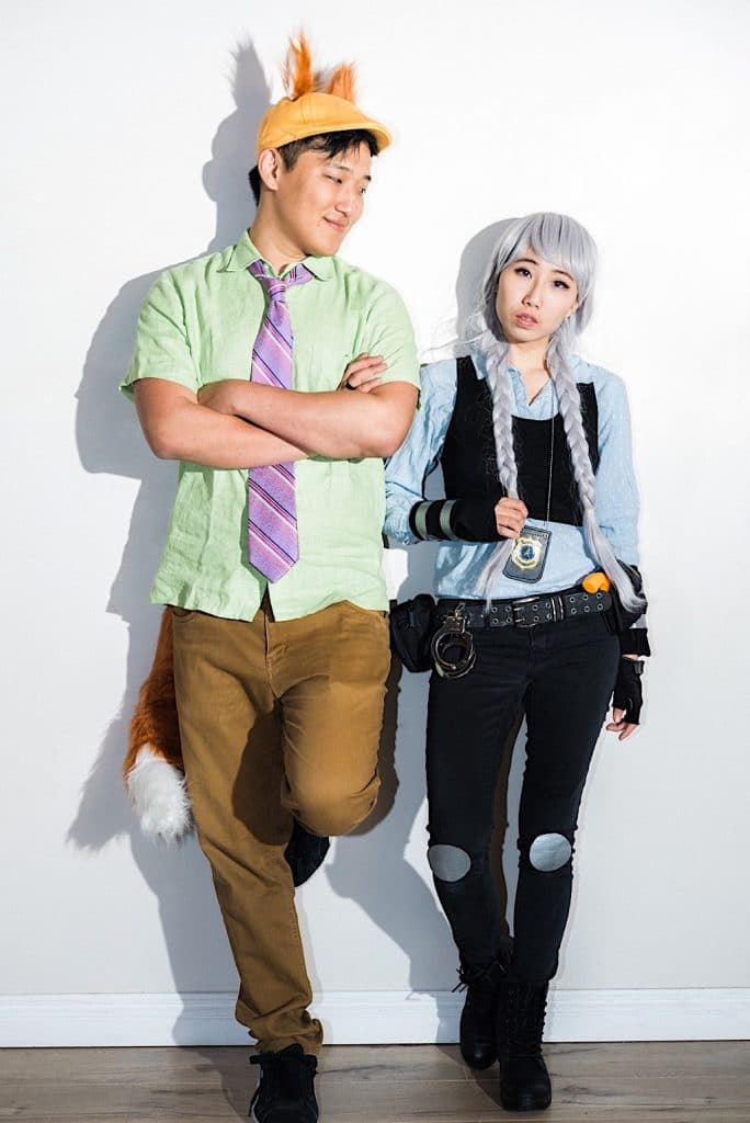 Disney's Zootopia Judy and Nick couples costumes