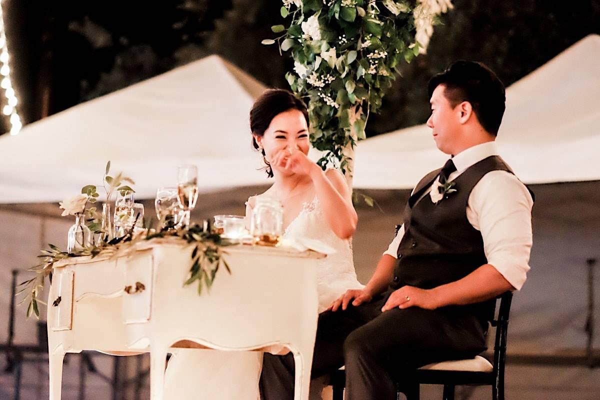 Intimate Palm Springs ranch wedding